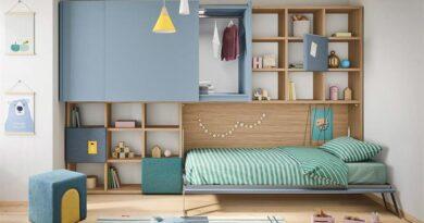 Детские мебельные стенки позволяют создать уют