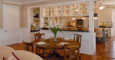 Как совместить столовую с кухней