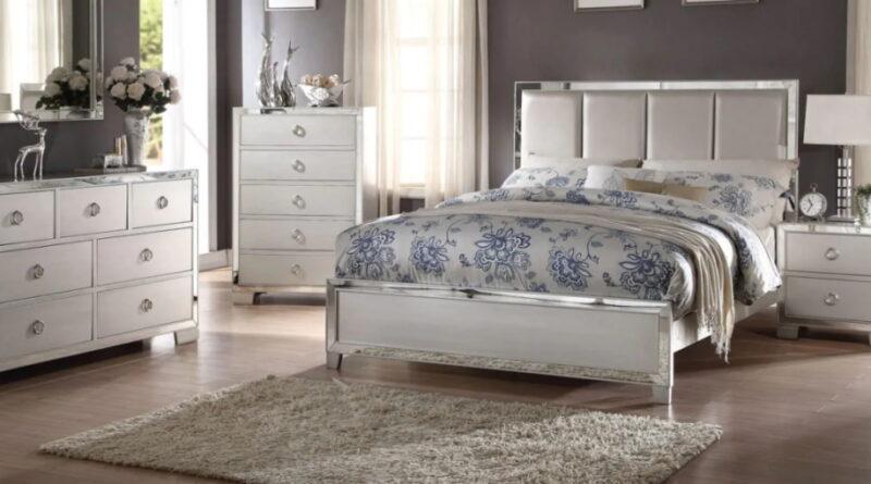 Модульная мебель и постельное белье из сатина – удачный дуэт в жилом помещении
