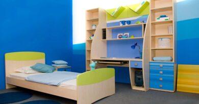 Нюансы обустройства детской с помощью мебели