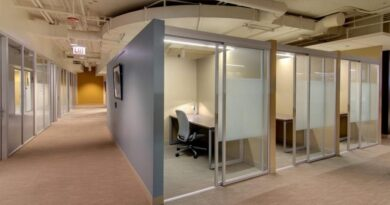 Офисные перегородки – что нужно знать о стеклянных перегородках