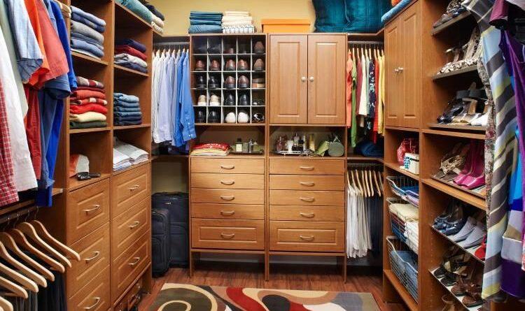 Подбираем наполнение для гардеробных комнат