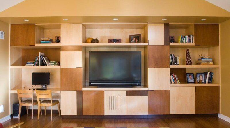 Стенка для кабинетной мебели