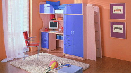 Детская мебель разнообразна